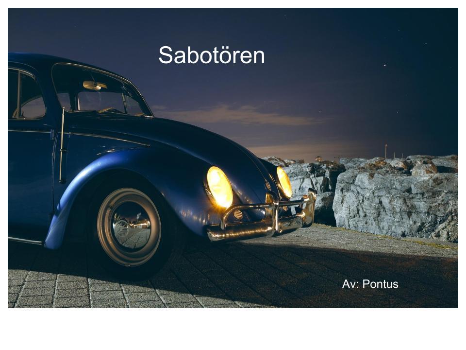 Sabotören